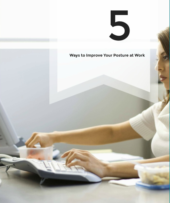5 Simple Ways to Improve Your Posture at Work