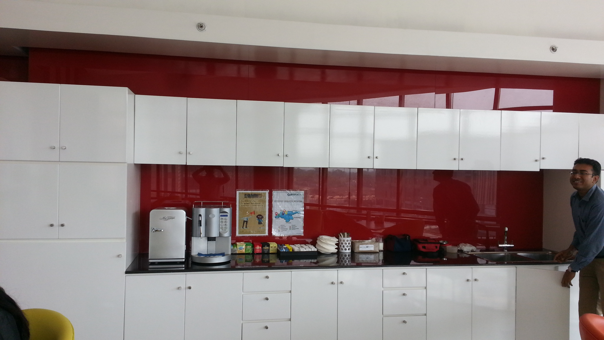 Pantry Area Avanta Serviced Office Aerocity