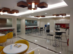 pantry area avanta serviced office at park centra