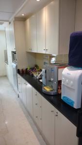 pantry area avanta serviced office saket