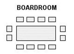 boardroom style seating avanta meeting room