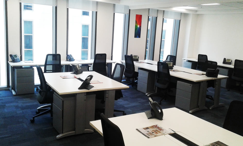 aerocity serviced office avanta business centre