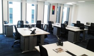 Open Office Layout without Cabin