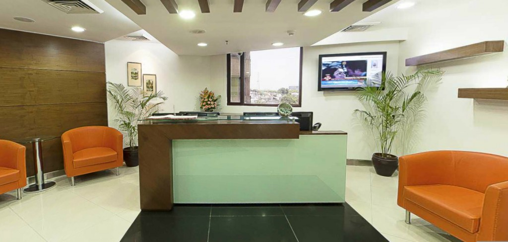 avanta business centre reception