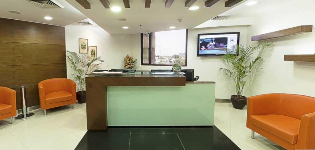 avanta business centre reception