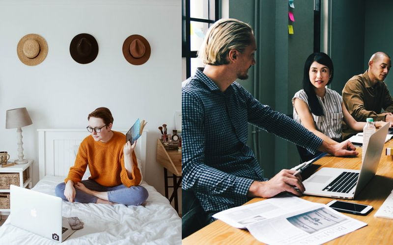 Working at Home Vs Working at Coworking Space