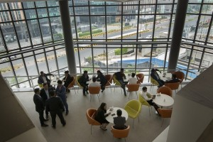 Avanta Business Centre Aerocity Breakout Area View