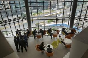 Avanta Business Centre Aerocity Breakout Area View
