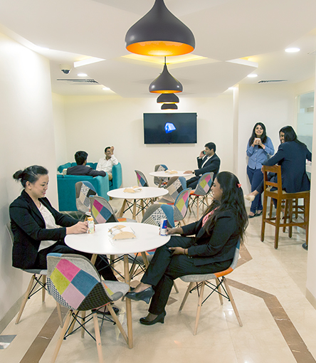 Temporary Office in Nehru Place