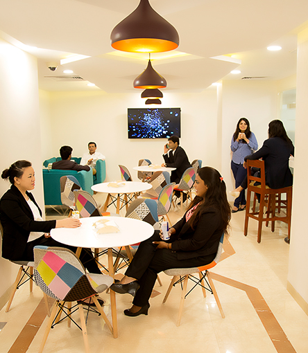 Business Centre in Nehru Place