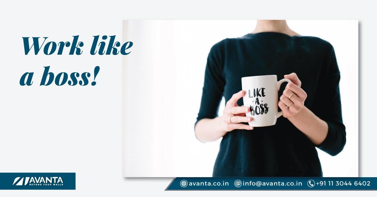 benefits of Avanta coworking space in Delhi