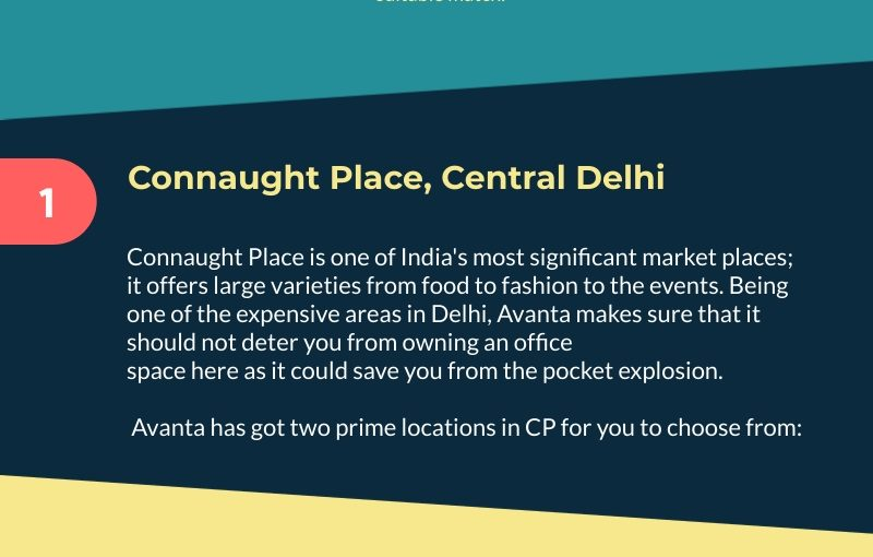 Best Locations for Office Space in Delhi